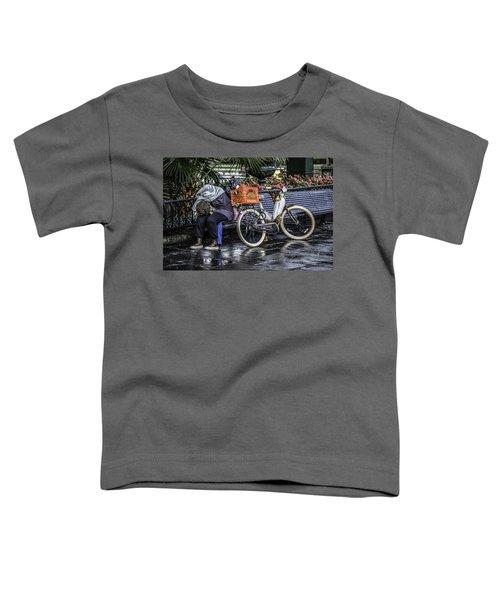 Homeless In New Orleans, Louisiana Toddler T-Shirt