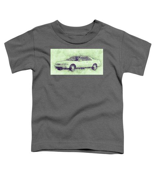 Honda Acura Legend 3 - Executive Car - 1985 - Automotive Art - Car Posters Toddler T-Shirt