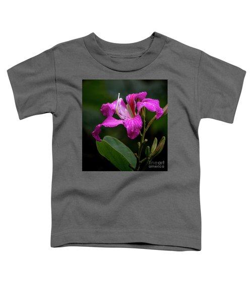 Hong Kong Orchid Toddler T-Shirt