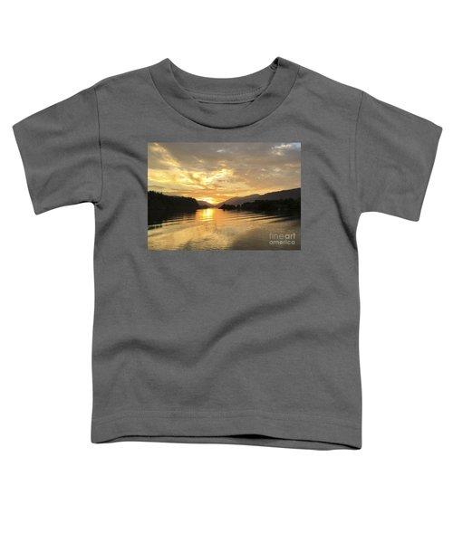 Hood River Golden Sunset Toddler T-Shirt