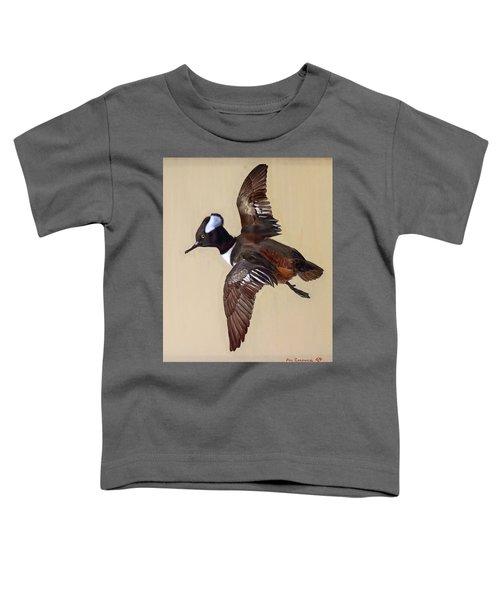 Hooded Merganser Toddler T-Shirt