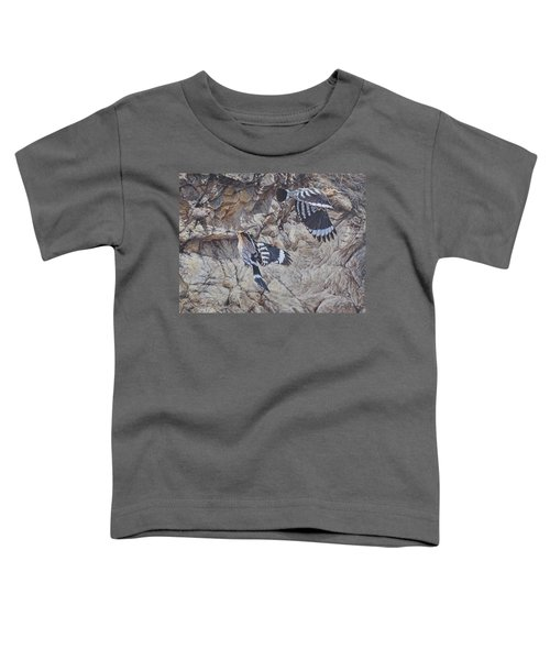 Hoopoes Feeding Toddler T-Shirt