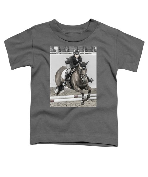 Horse And Rider Toddler T-Shirt