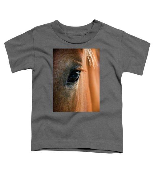 Horse Eye Toddler T-Shirt