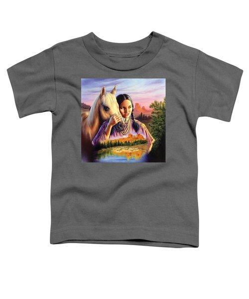 Horse Maiden Toddler T-Shirt
