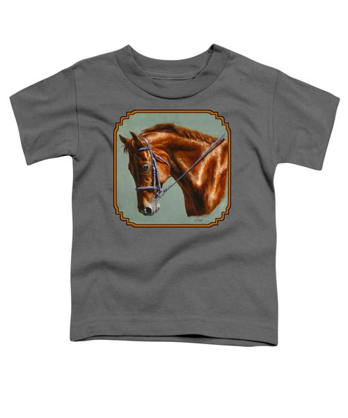 Horse Painting - Focus Toddler T-Shirt