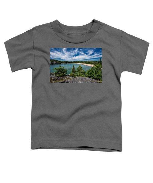 Toddler T-Shirt featuring the photograph Horse Shoe Bay by Doug Gibbons