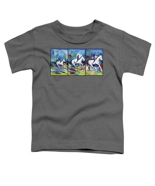 Horse Three II Toddler T-Shirt
