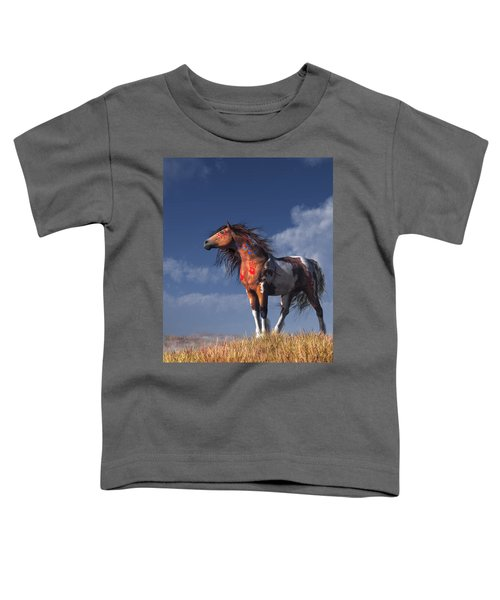 Horse With War Paint Toddler T-Shirt