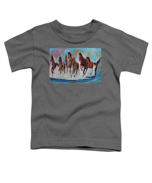 Horses Of Success Toddler T-Shirt