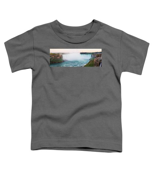 Horseshoe Falls At Dusk Toddler T-Shirt