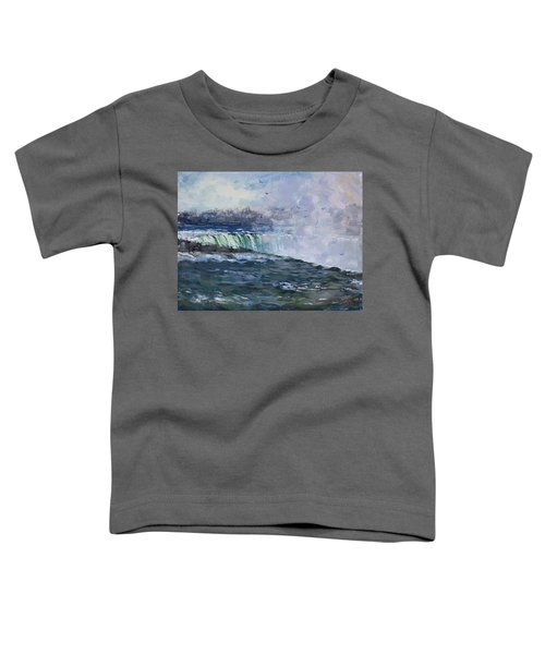 Horseshoe Falls Toddler T-Shirt