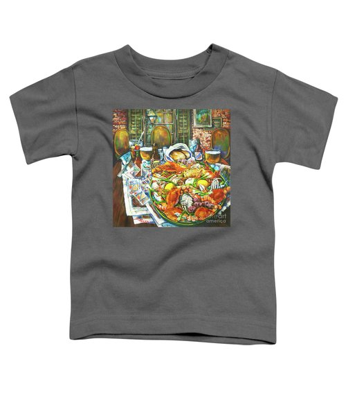 Hot Boiled Crabs Toddler T-Shirt