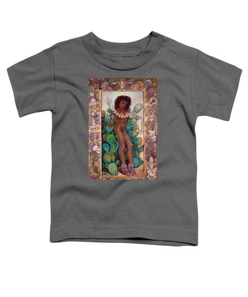 Hot Cactus Toddler T-Shirt