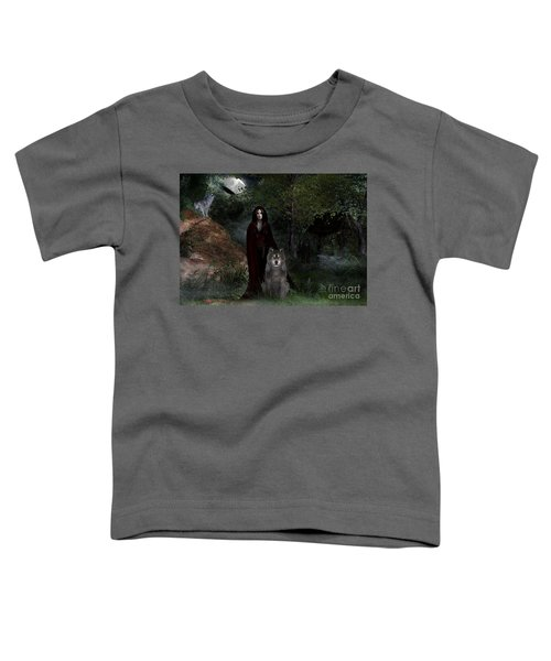 Hour Of The Wolf Toddler T-Shirt