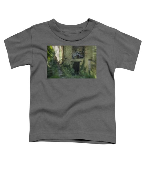 House With Bycicle Toddler T-Shirt