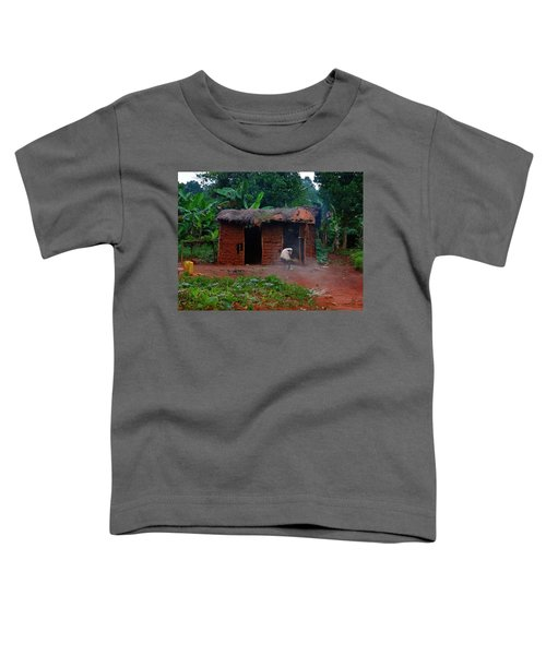 Housecleaning Africa Style Toddler T-Shirt by Exploramum Exploramum