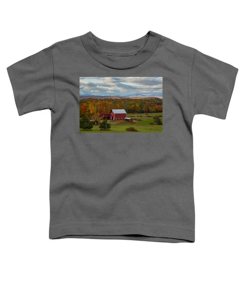 Hudson Valley Ny Fall Colors Toddler T-Shirt