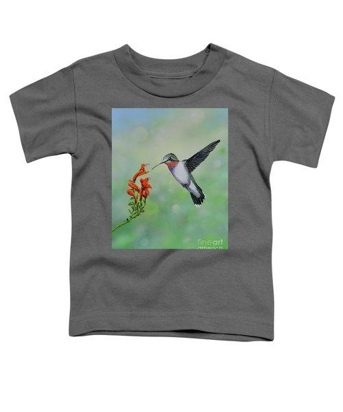 Hummingbird Beauty Toddler T-Shirt