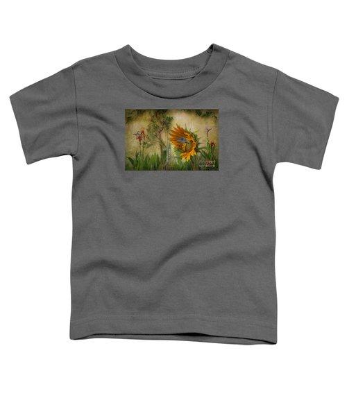 Hummingbirds In My Garden Toddler T-Shirt