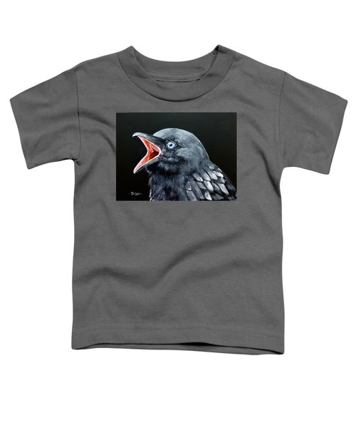 Hungry Baby Raven Toddler T-Shirt