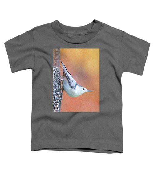 Hungry Nuthatch Toddler T-Shirt