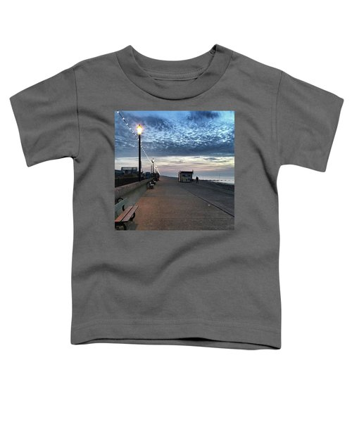 Hunstanton At 5pm Today  #sea #beach Toddler T-Shirt by John Edwards