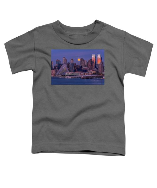 Hunter's Moon Over Ny Toddler T-Shirt