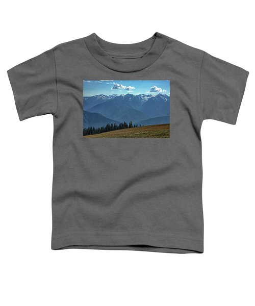 Hurricane Ridge Toddler T-Shirt
