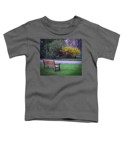 Hyde Park Bench - London Toddler T-Shirt