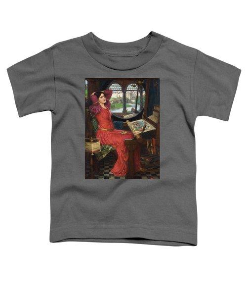 I Am Half Sick Of Shadows Said The Lady Of Shalott Toddler T-Shirt