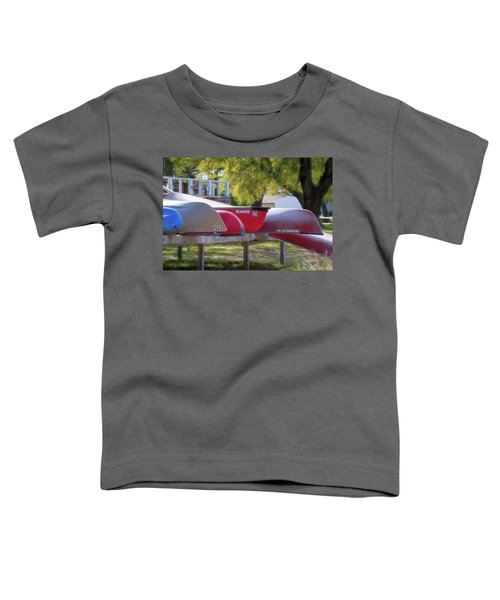 I Believe I'll Go Canoeing Toddler T-Shirt