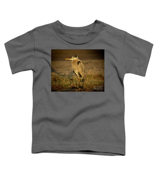 I Know They Are Coming Wildlife Art By Kaylyn Franks Toddler T-Shirt