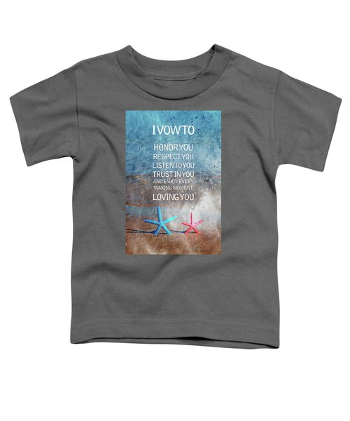 I Vow To... Toddler T-Shirt