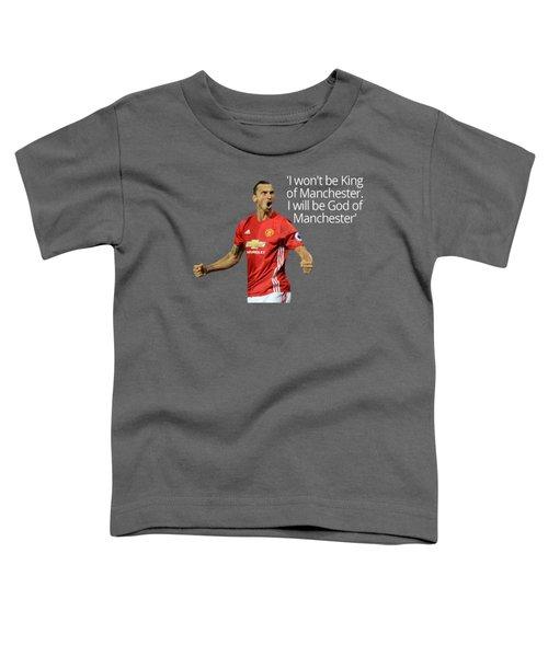 Ibrahimovic Toddler T-Shirt by Vincenzo Basile