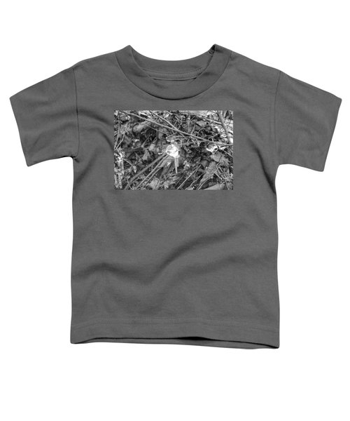 Ice Crystal In January Toddler T-Shirt
