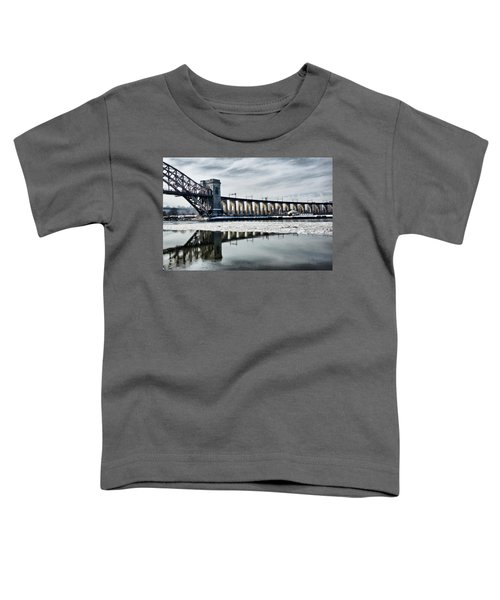Ice Flows Under The Hellgate Toddler T-Shirt