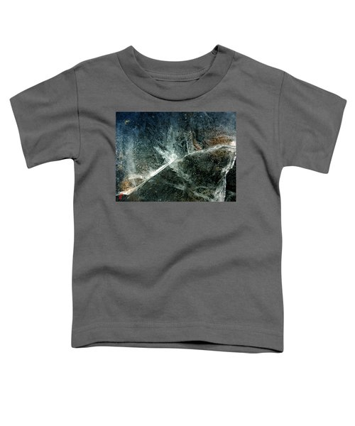 Toddler T-Shirt featuring the photograph Ice Winter Denmark by Colette V Hera Guggenheim