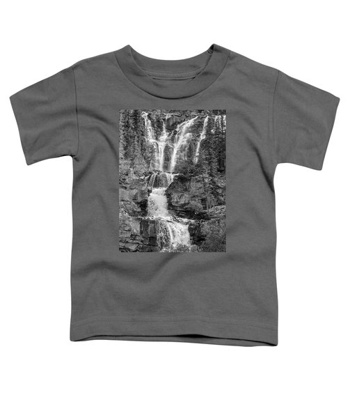 Icefields Waterfall Toddler T-Shirt