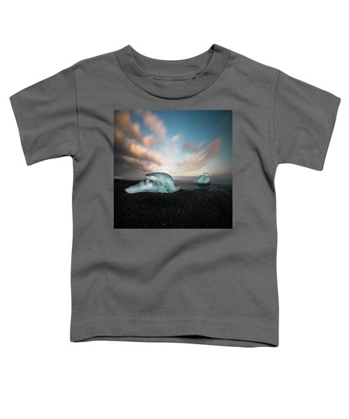 Iceland Glacial Ice Toddler T-Shirt