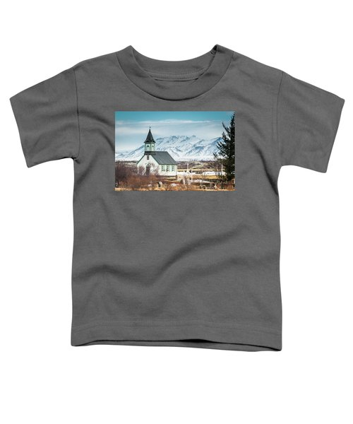 Icelandic Church, Thingvellir Toddler T-Shirt