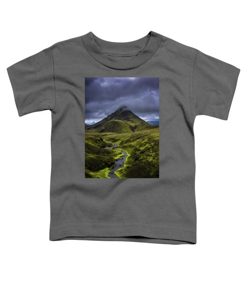 Icelandic Highlands Toddler T-Shirt