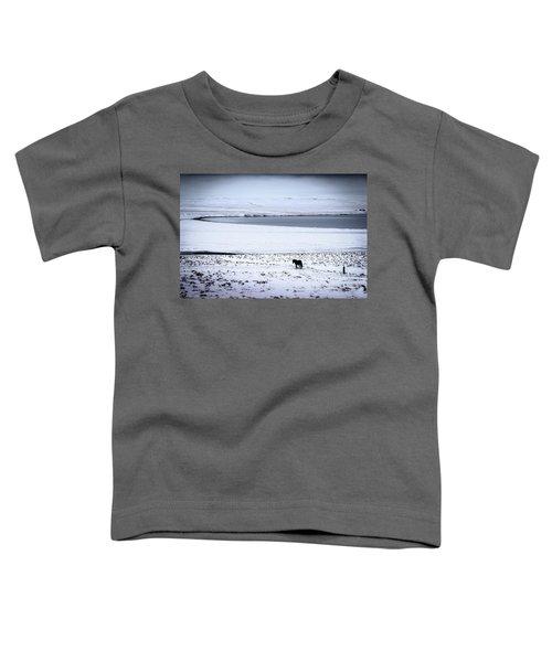 Icelandic Horse Toddler T-Shirt