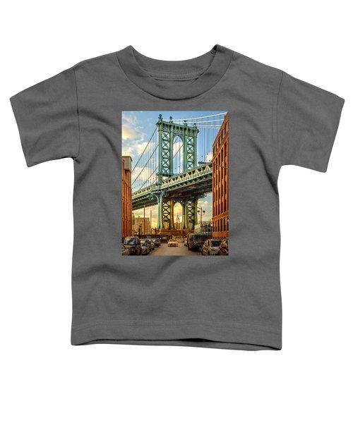 Iconic Manhattan Toddler T-Shirt