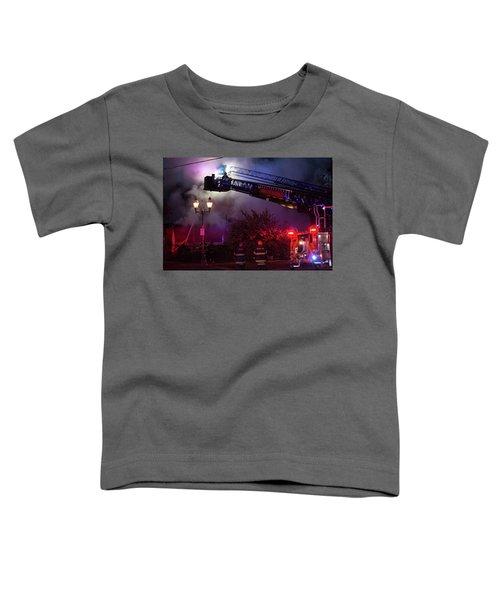 Ict - Burning Toddler T-Shirt