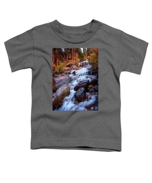 Icy Cascade Waterfalls Toddler T-Shirt