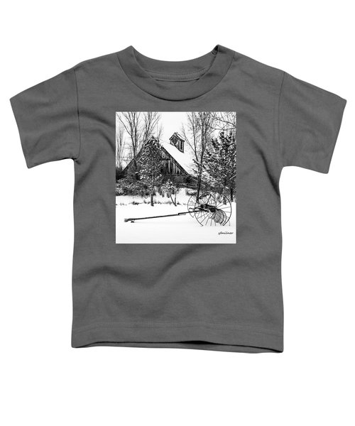 Idle Time - Waiting For Spring Toddler T-Shirt