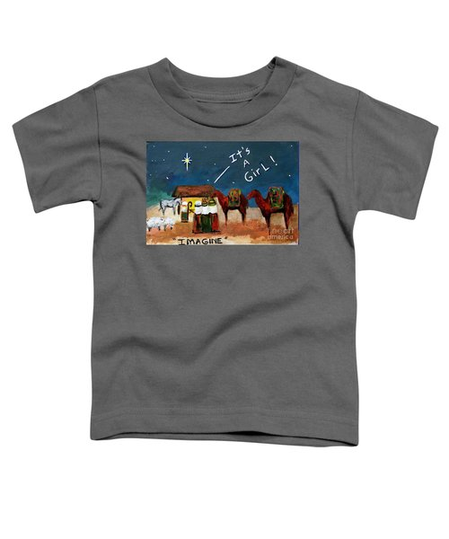 Imagine Toddler T-Shirt