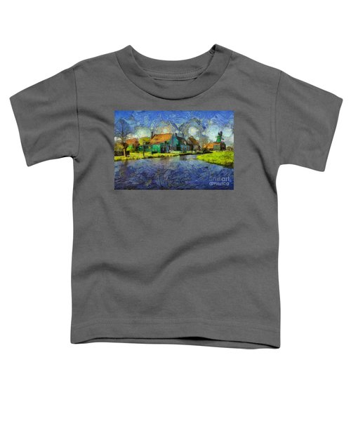 Impressions Of Zaanse Schans Toddler T-Shirt