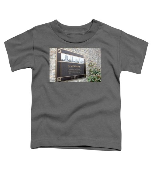 In Memoriam - Ypres Toddler T-Shirt